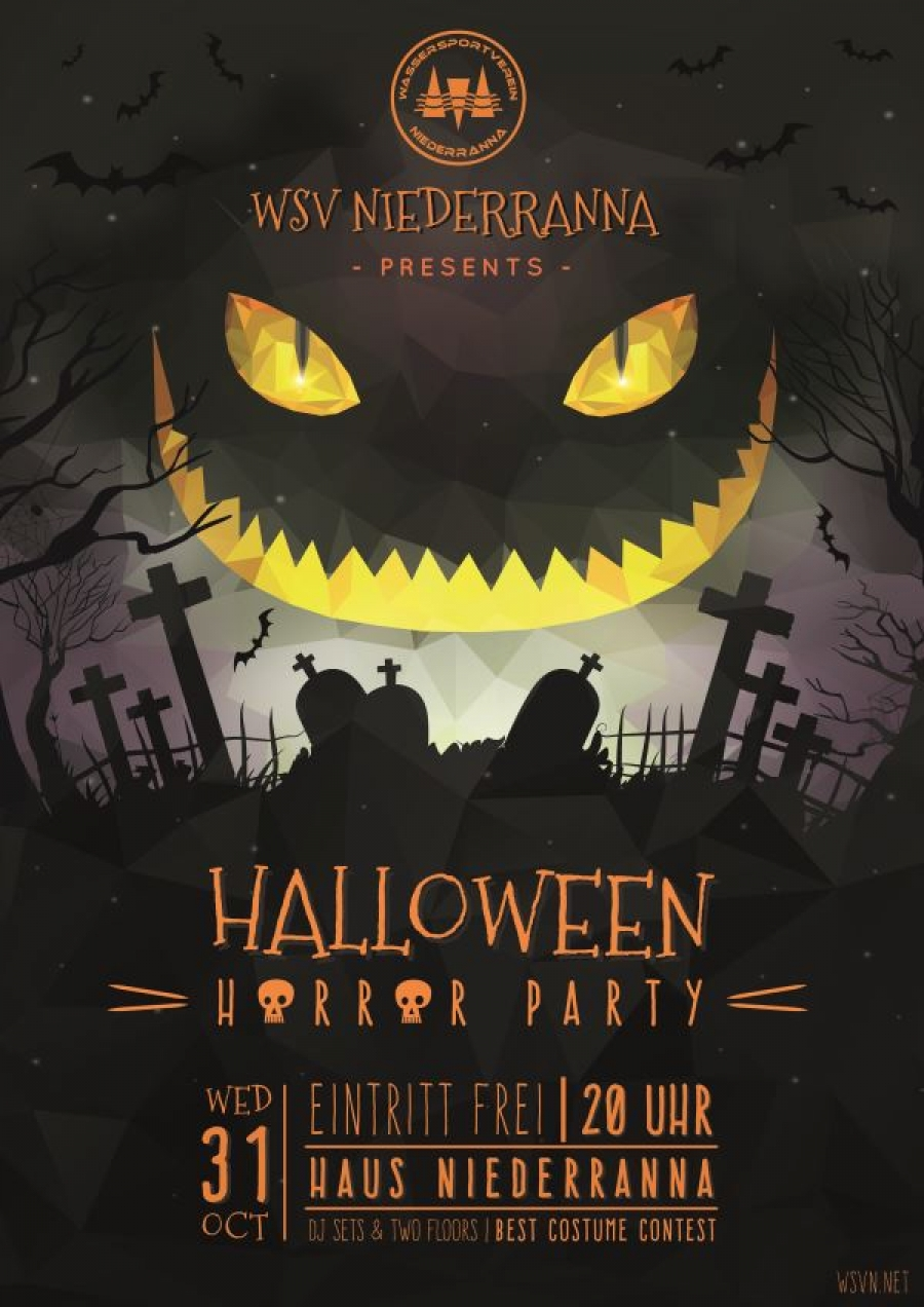 Halloween Party 2018 Wassersportverein Niederranna